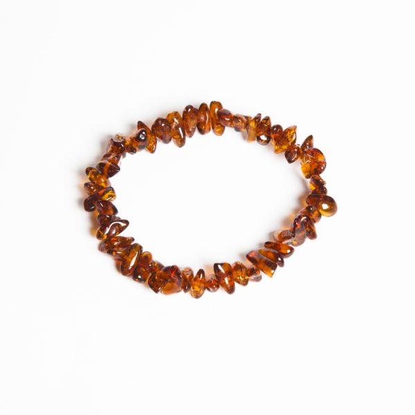 Bärnstensarmband vuxen 18-19 cm