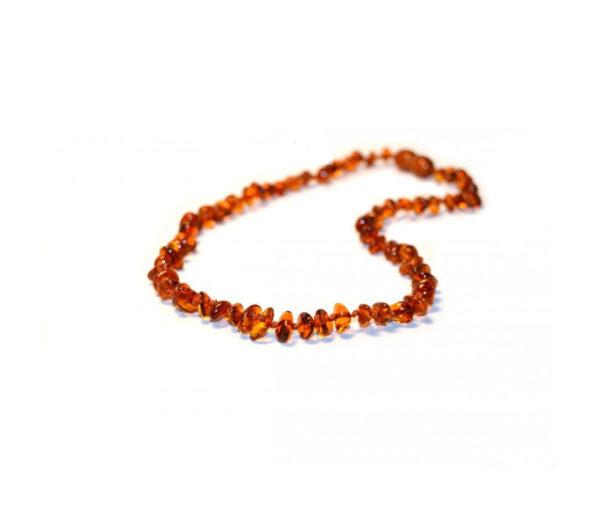 Bärnsten halsband till barn - 33 cm mörk - Kall Naturkompani 8980282bb80db